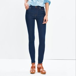"""Madewell 9"""" High-Rise Skinny Jeans Size 30"""